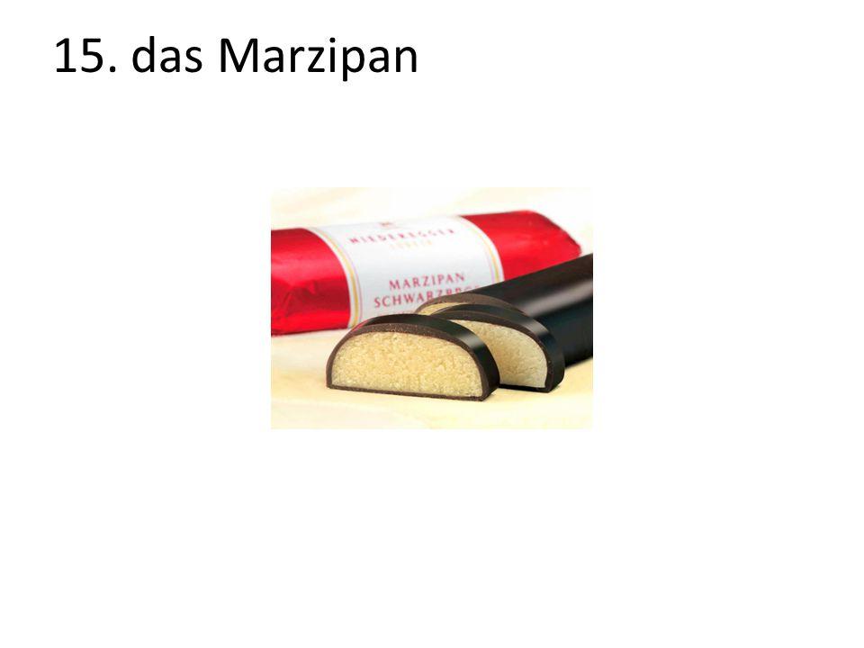15. das Marzipan The Marzipan