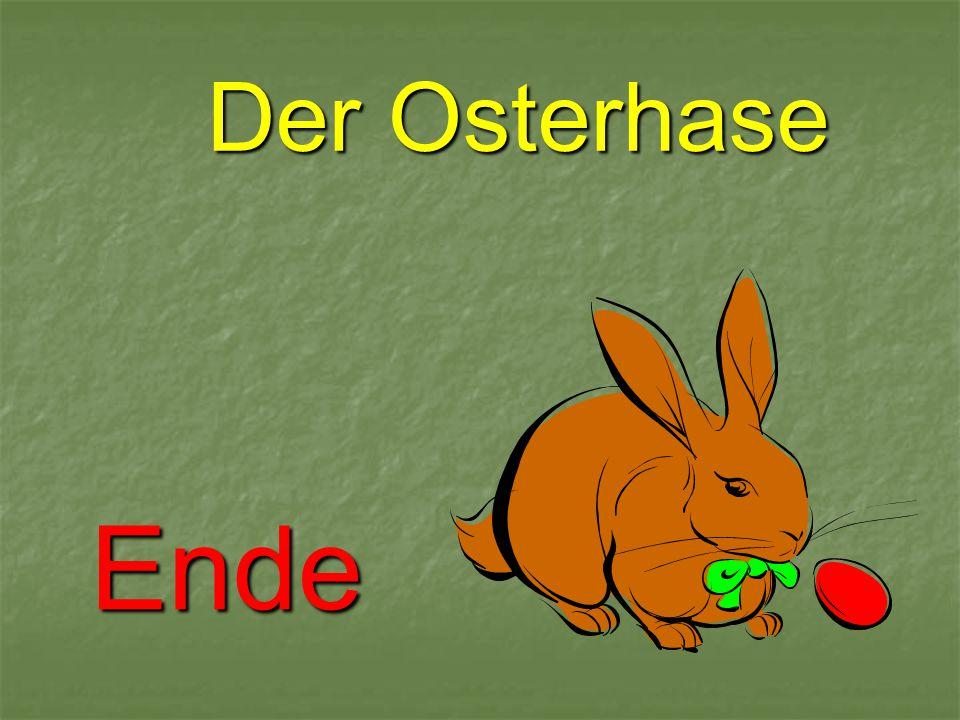 Der Osterhase Ende