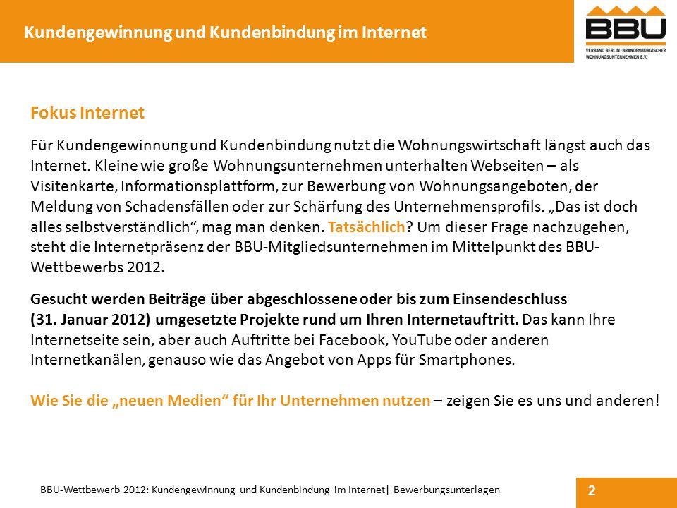 Kundengewinnung und Kundenbindung im Internet
