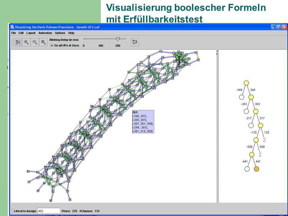 Visualisierung boolescher Formeln