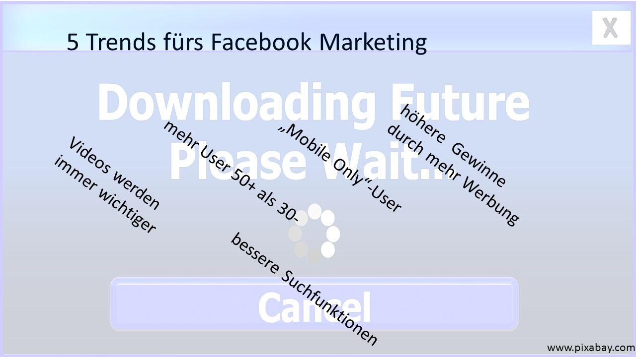5 Trends fürs Facebook Marketing