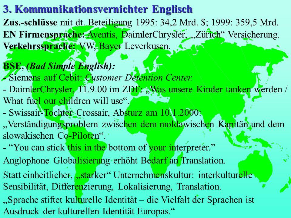 3. Kommunikationsvernichter Englisch