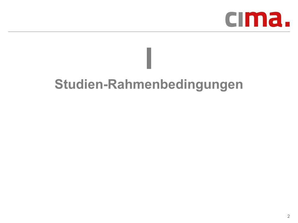 I Studien-Rahmenbedingungen