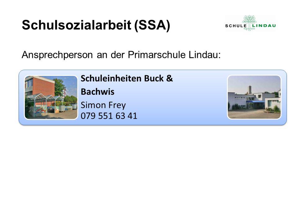 Schulsozialarbeit (SSA)