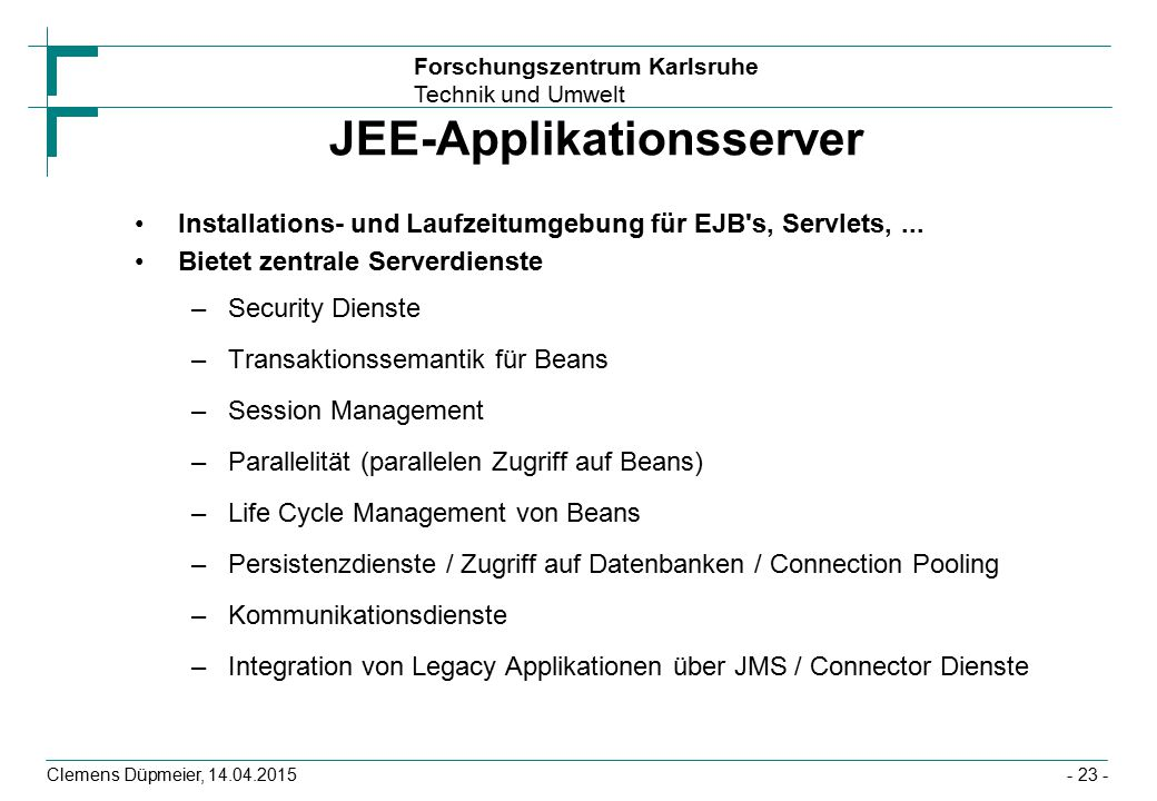 JEE-Applikationsserver