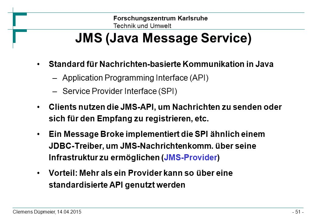 JMS (Java Message Service)