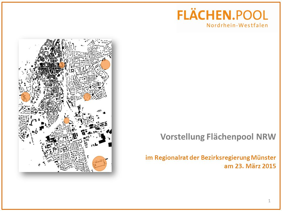Vorstellung Flächenpool NRW