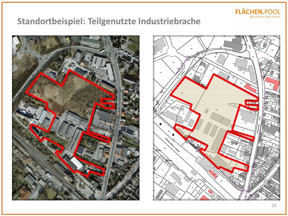 Standortbeispiel: Teilgenutzte Industriebrache