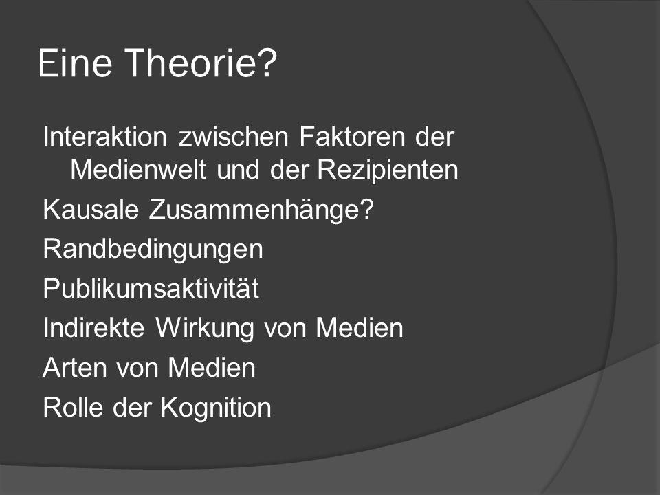 Eine Theorie
