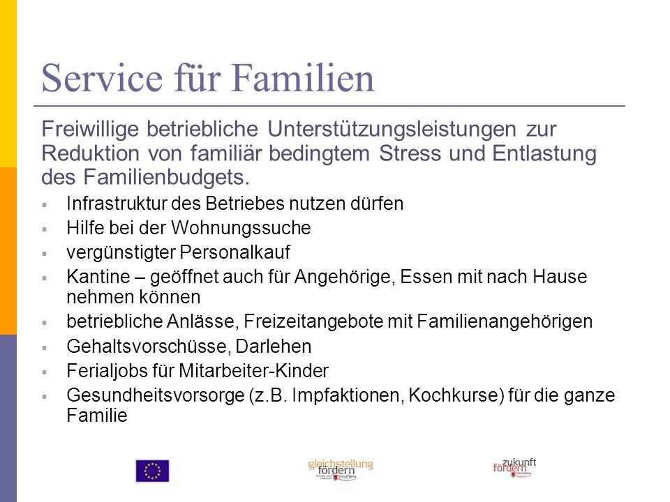 Service für Familien