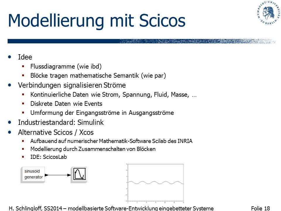 Modellierung mit Scicos