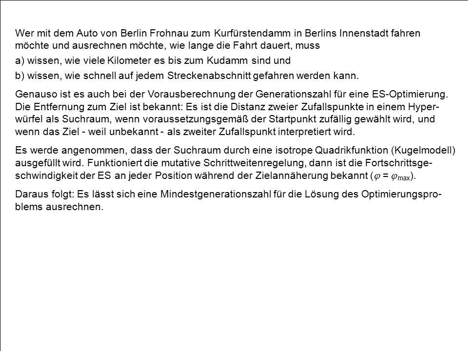 Wer mit dem Auto von Berlin Frohnau zum Kurfürstendamm in Berlins Innenstadt fahren möchte und ausrechnen möchte, wie lange die Fahrt dauert, muss