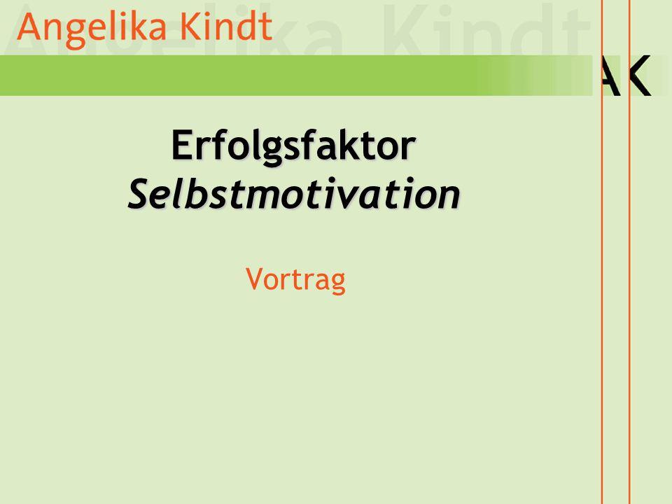 Erfolgsfaktor Selbstmotivation