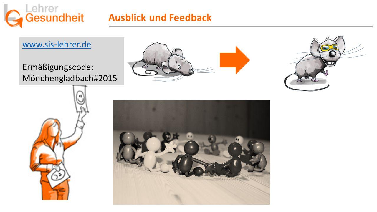 Ausblick und Feedback www.sis-lehrer.de Ermäßigungscode: