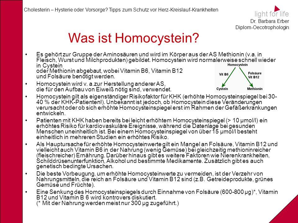 Was ist Homocystein