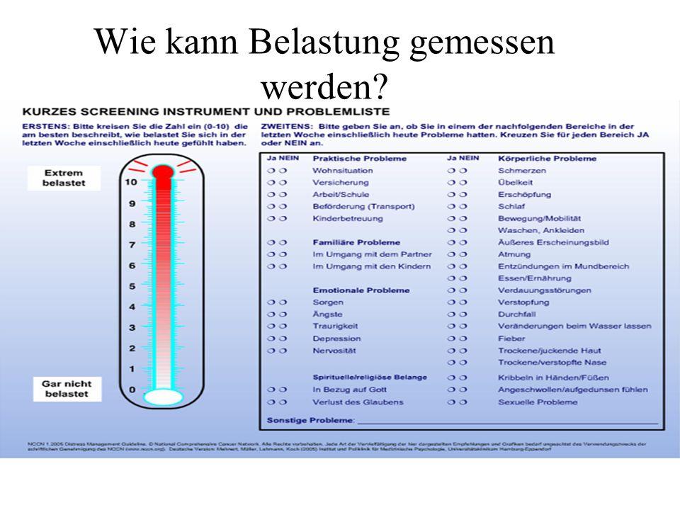 Wie kann Belastung gemessen werden