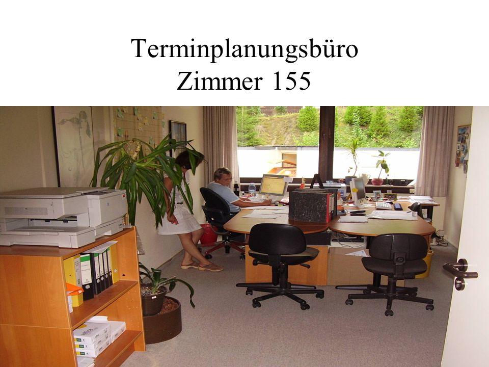 Terminplanungsbüro Zimmer 155