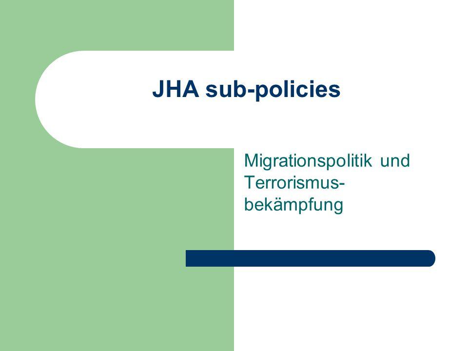 Migrationspolitik und Terrorismus-bekämpfung