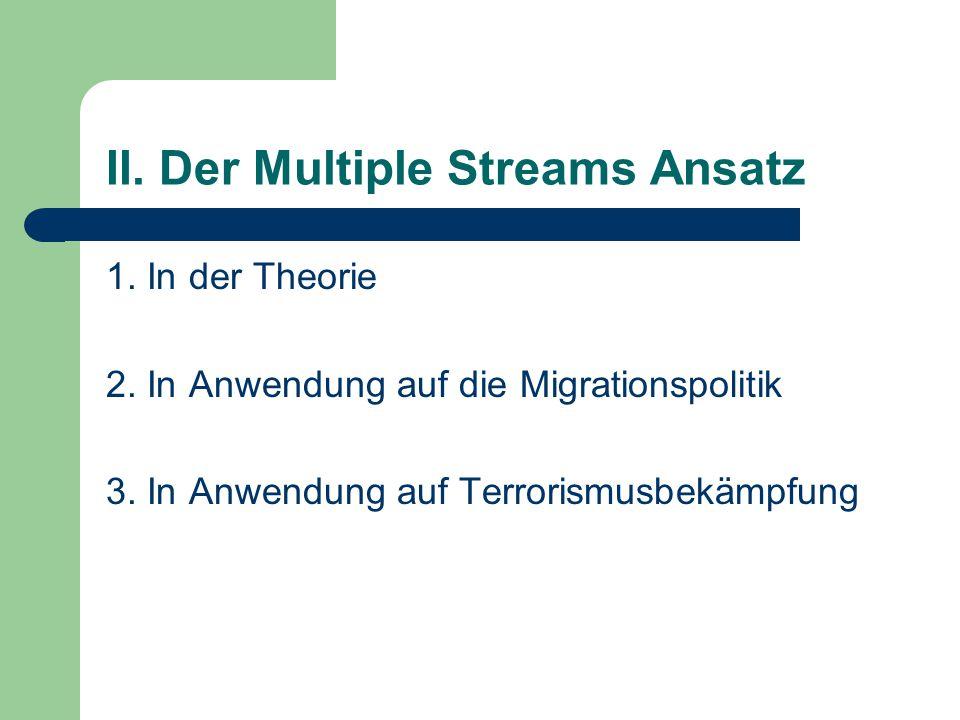 II. Der Multiple Streams Ansatz