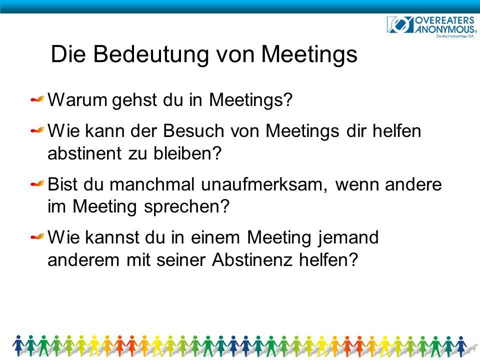 Die Bedeutung von Meetings