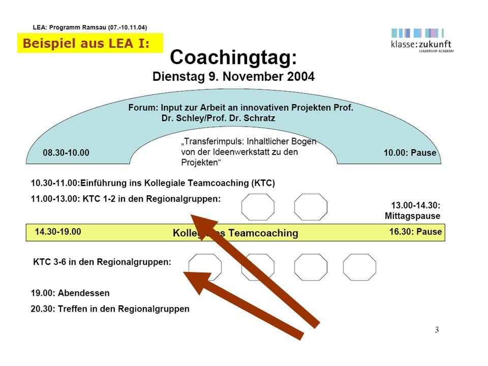 Beispiel aus LEA I: