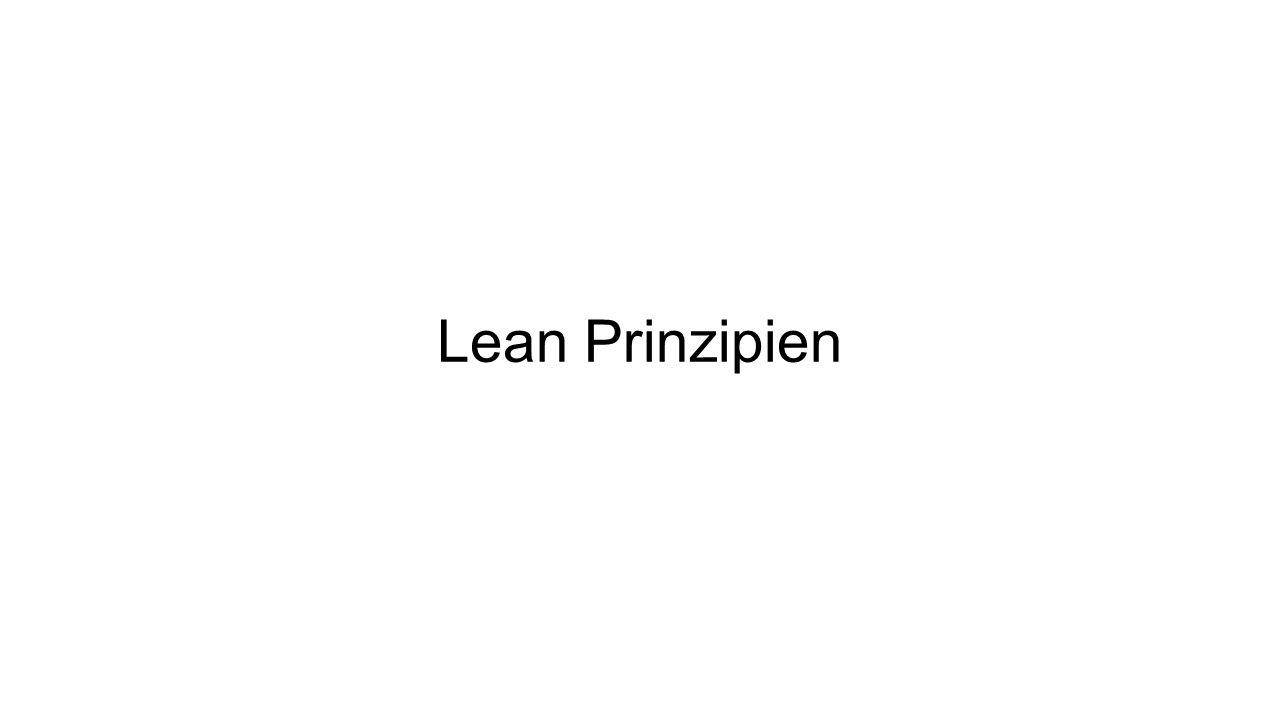 Lean Prinzipien