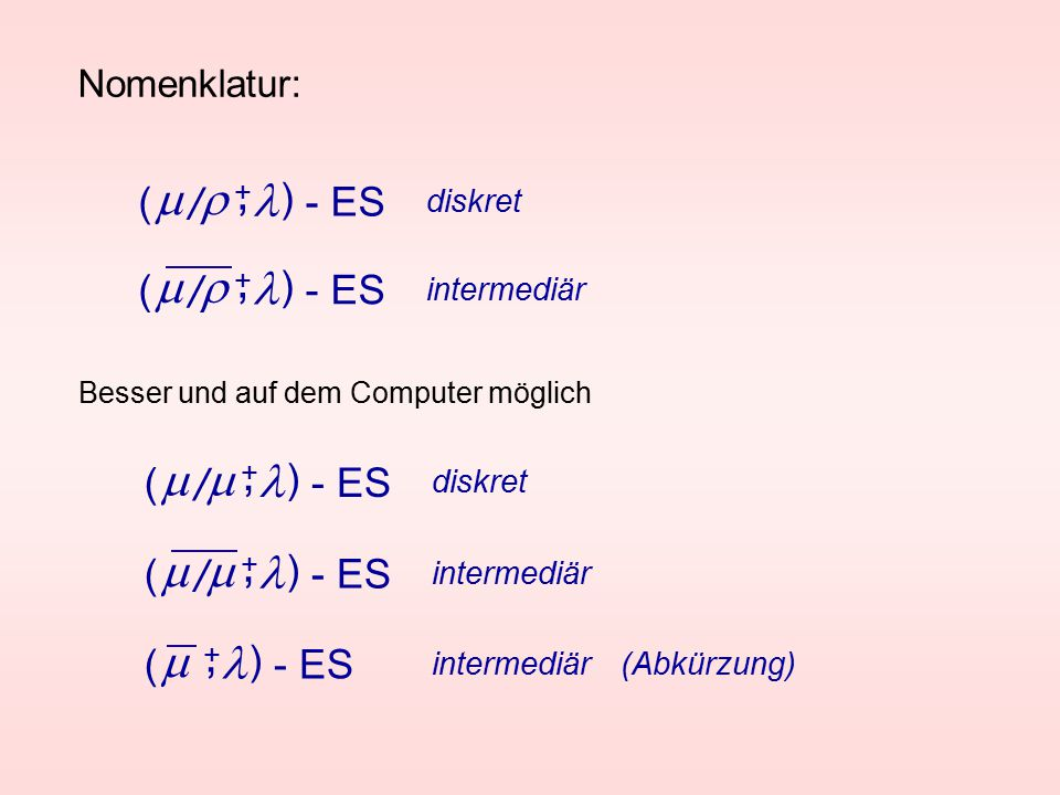 , , , , , m r l m r l m m l m m l m l / / / / ( ) - ES ( ) - ES ( )