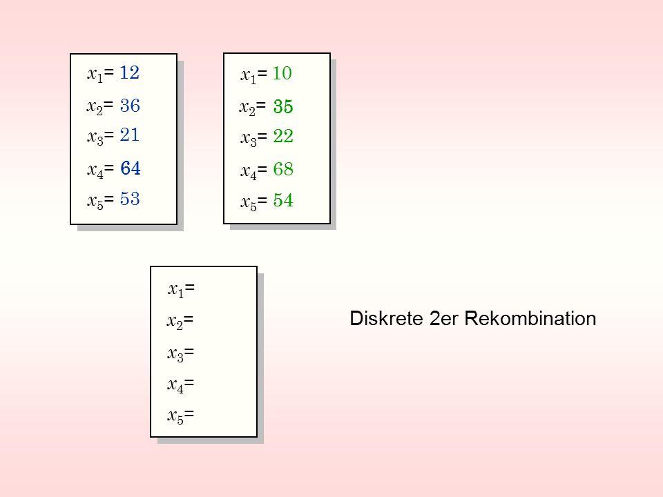 Diskrete 2er Rekombination