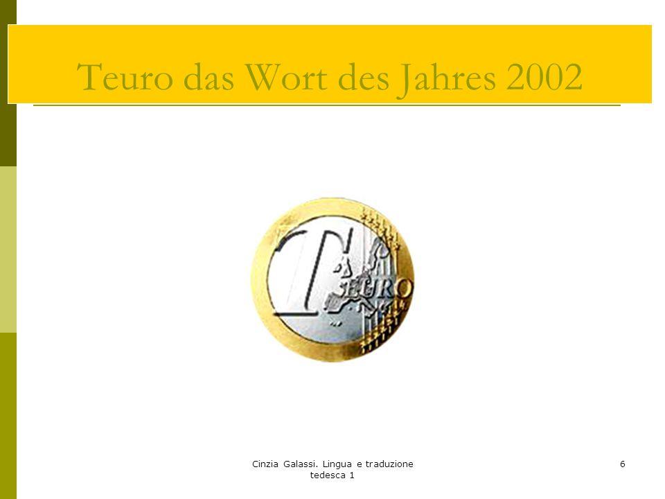 Teuro das Wort des Jahres 2002