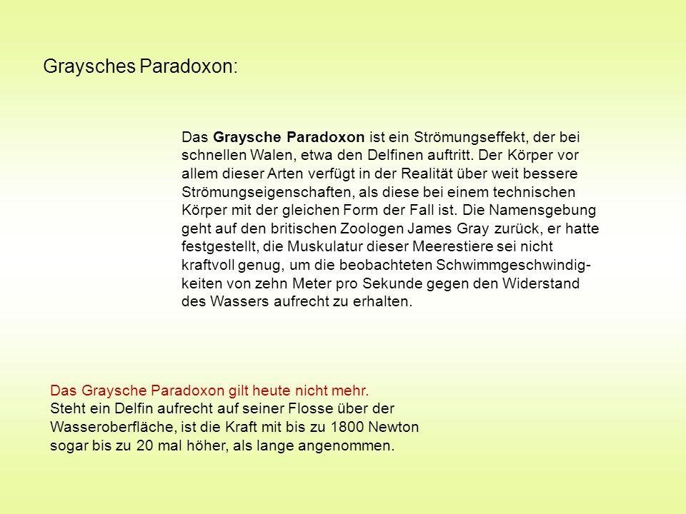 Graysches Paradoxon: