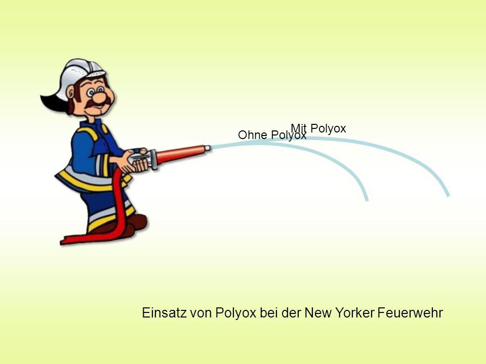 Einsatz von Polyox bei der New Yorker Feuerwehr