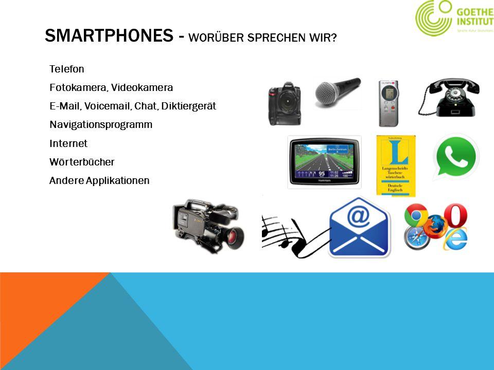 Smartphones - Worüber sprechen wir