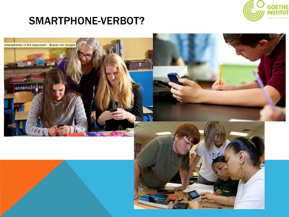 Smartphone-Verbot