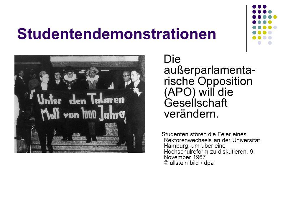 Studentendemonstrationen