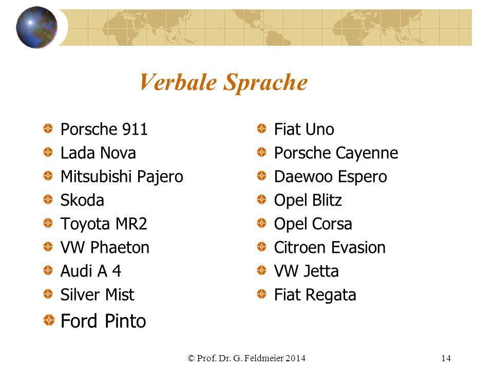 Verbale Sprache Ford Pinto Porsche 911 Lada Nova Mitsubishi Pajero