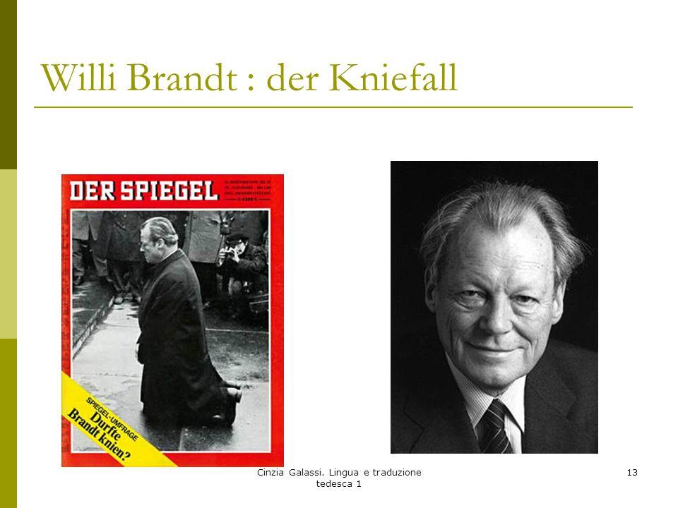 Willi Brandt : der Kniefall