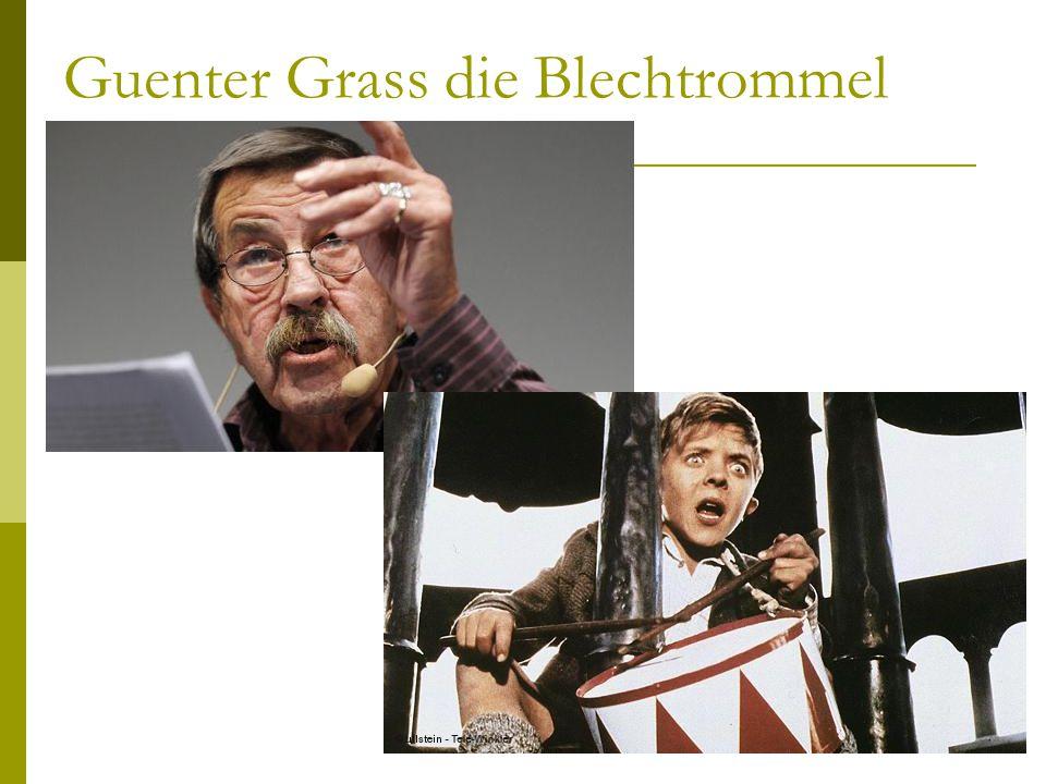 Guenter Grass die Blechtrommel
