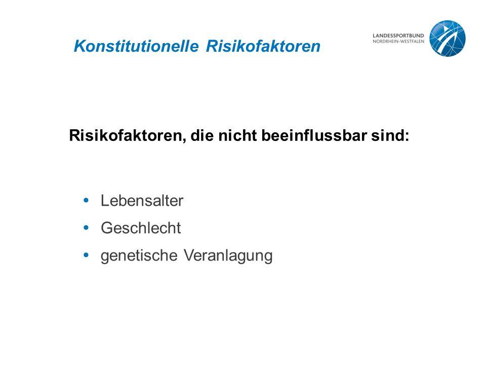 Konstitutionelle Risikofaktoren