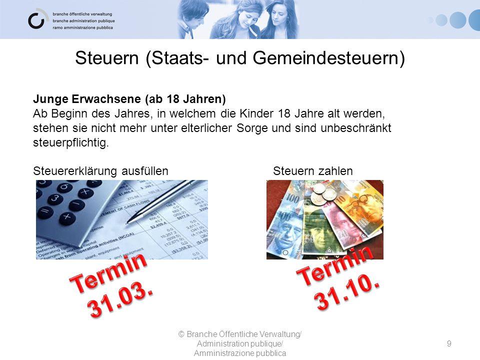 Steuern (Staats- und Gemeindesteuern)
