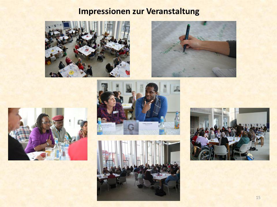 Impressionen zur Veranstaltung