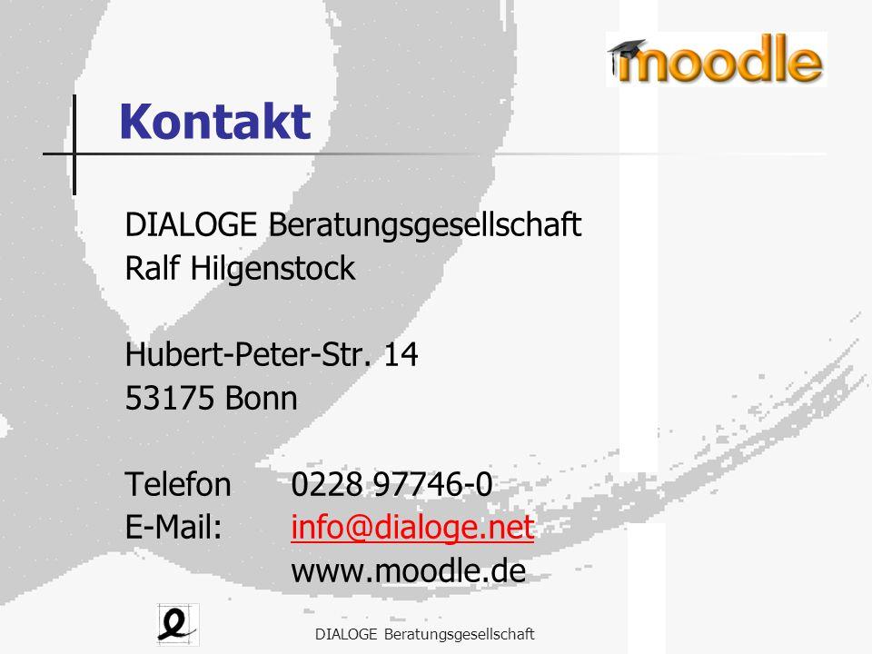 Kontakt DIALOGE Beratungsgesellschaft Ralf Hilgenstock