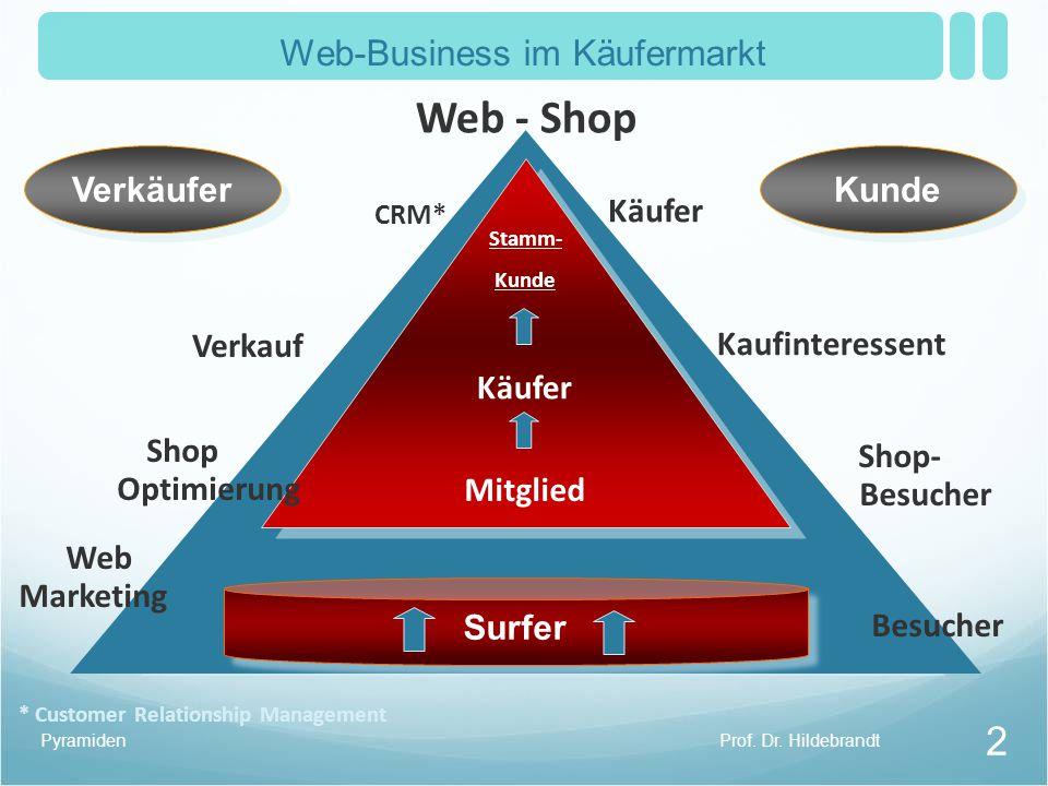 Web-Business im Käufermarkt