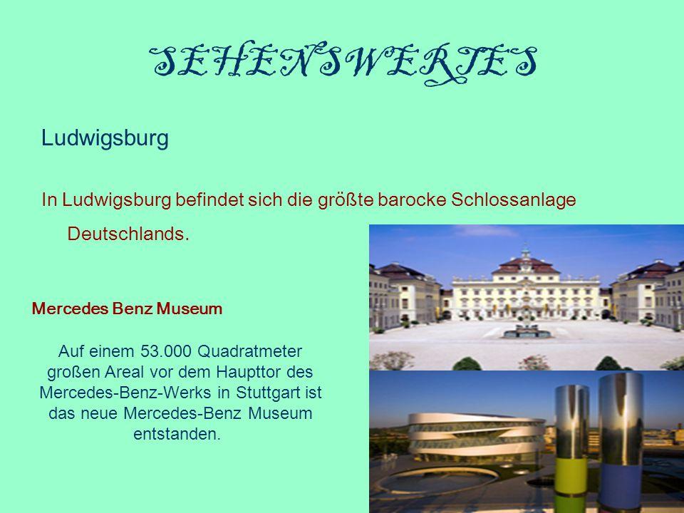 SEHENSWERTES Ludwigsburg