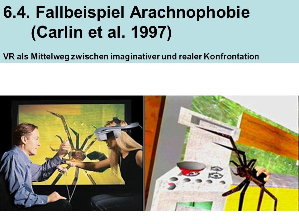 6.4. Fallbeispiel Arachnophobie (Carlin et al. 1997)