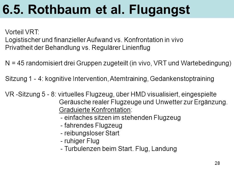 6.5. Rothbaum et al. Flugangst