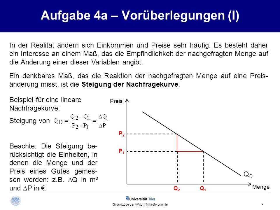 Aufgabe 4a – Vorüberlegungen (I)
