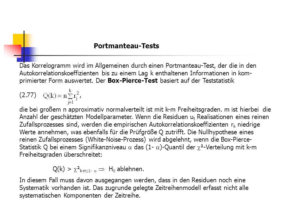 Portmanteau-Tests