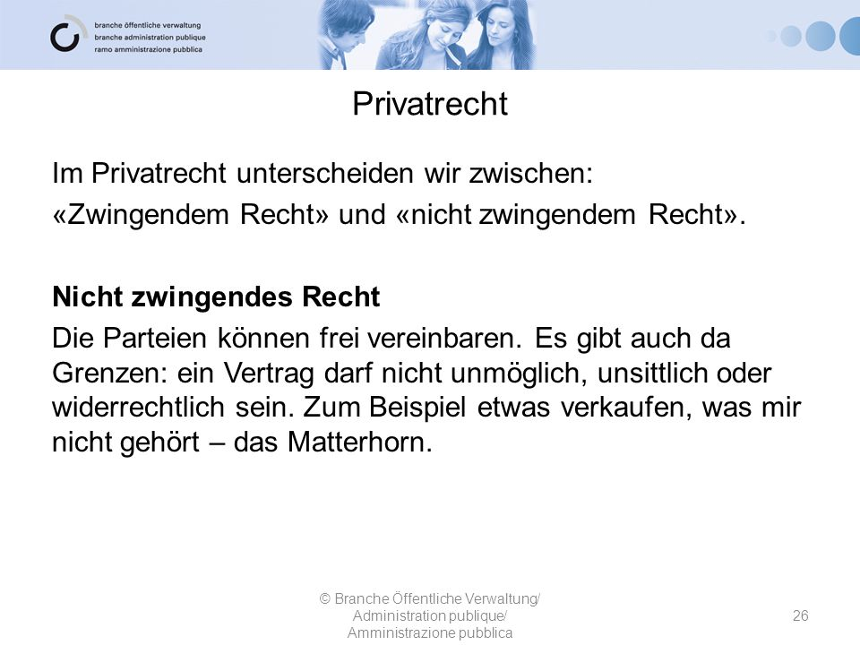 Privatrecht