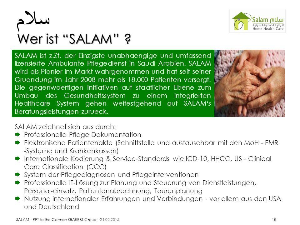 سلام Wer ist SALAM
