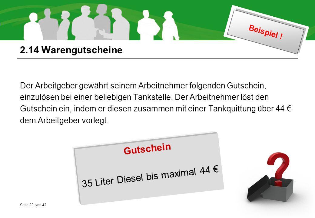 35 Liter Diesel bis maximal 44 €